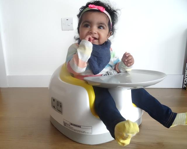 Honest Bumbo Floor Seat In Blue For 3-12 Mo. Baby Gear Baby