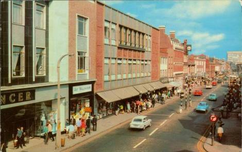 Marks and Spencers Slough 1970s-2