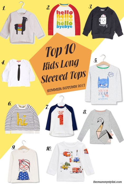 top-10-kids-long-sleeved-tops-summer-autumn-2017