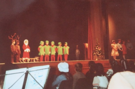 School Christmas Concert, 1980s