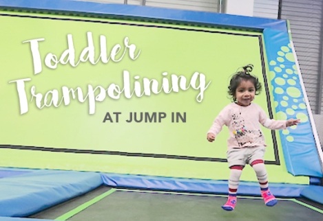 Jump In Trampolining in Slough Toddler Kids Activity