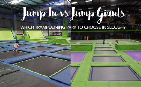 Jump In vs Jump-Giants | Trampolining in Slough