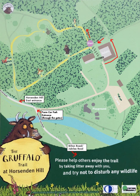 Gruffalo Trail Map Horsenden Hill
