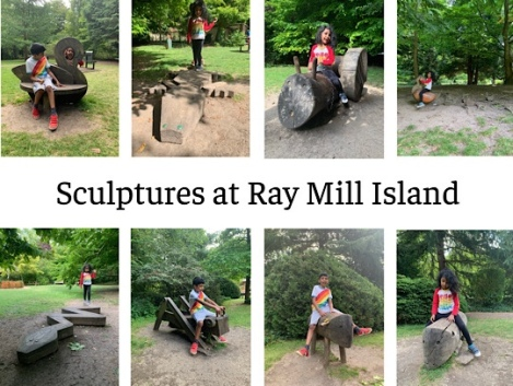 Ray Mill Island, Taplow, Maidenhead, Berkshire - Sculpture Trail