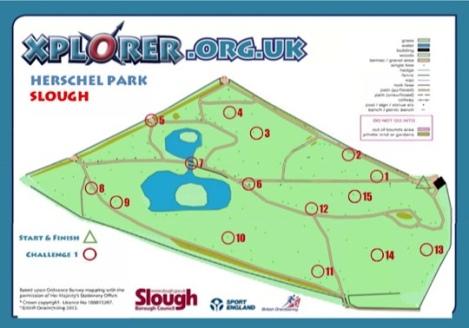 Herschel Park Dinosaur Trail Xplorer