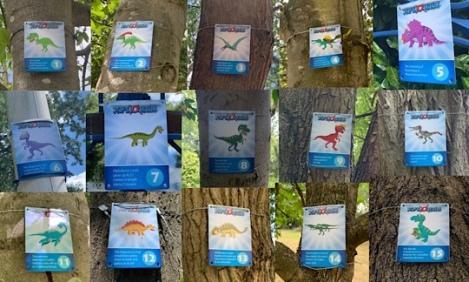 Herschel Park Dinosaur Xplorer Trail