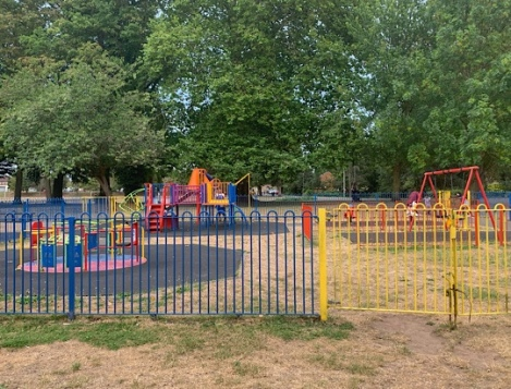 Cowley Lock and Canal - Playground at Cowley Recreation Ground
