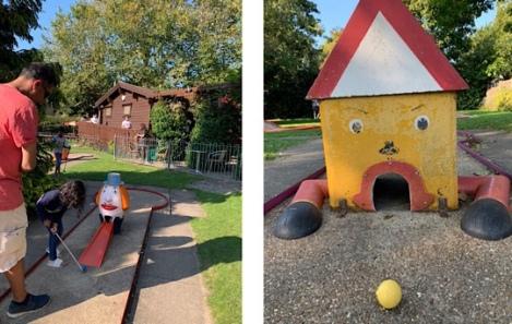 Jenners Crazy Golf - Riverside Gardens, Maidenhead, Berkshire