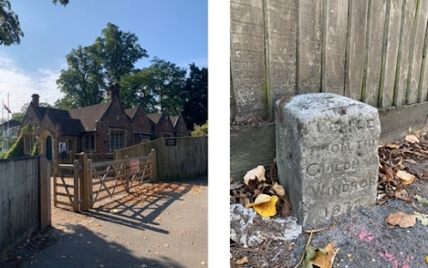 Slough to Eton Walking Trail | Berkshire Walk - Milestone