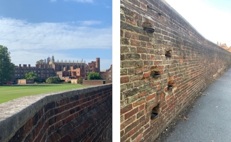 Slough to Eton Walking Trail | Berkshire Walk - The Wall Steps
