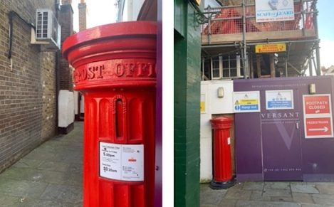 Rare Post Box Eton Berkshire