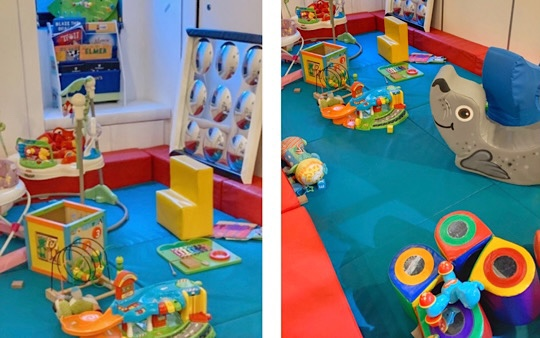 The Jelly Lounge Soft Play Baby Area, Windsor, Berkshire