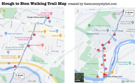 Slough-to-Eton-Walking-Trail-Map
