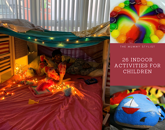 26 indoor activities for children