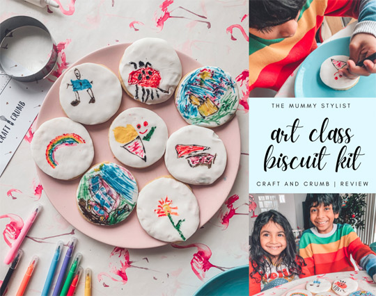 Art Class Biscuit Kit Review - Craft and Crumb