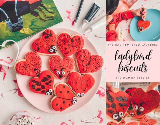 Bad Tempered Ladybird Biscuits Recipe - Baking with kids