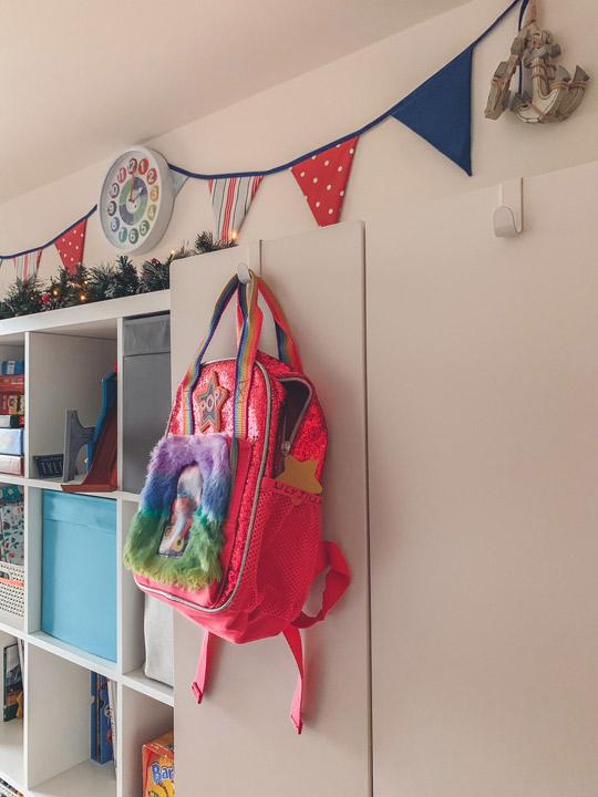 Ikea Kids Bedroom Makeover Kallax and Wardrobe