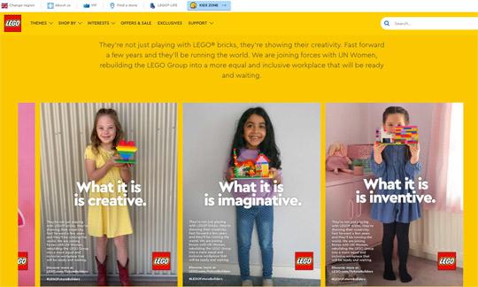 LEGO Future Builders International Womens Day 2021 Lily The Mummy Stylist Website
