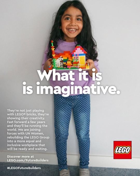 LEGO Future Builders International Womens Day 2021 Lily The Mummy Stylist