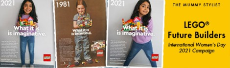 LEGO International Womens Day 2021 Future Builders Campaign